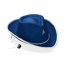 7da6d5a2c981 Western Cowboy Dress up Costume Party Supplies Childs 1 Boys Felt Hat Blue