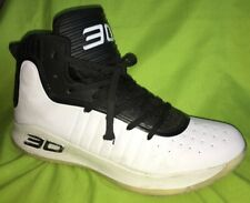 JINBEILE 30 Basketball Mid High Top Shoes Men's 10 White Black