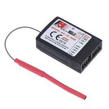 2X FS-R9B hochpraezise 2,4 GHz 8-Kanal-Empfaenger fuer FlySky TH9X Sender  DE