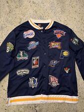 Vintage Nike Nba Teams Warm Up Varsity All Star Logos Clippers Lakers Sonics Euc