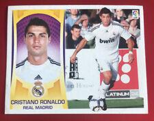 CRISTIANO RONALDO FICHAJE 2 REAL MADRID, ESTE 09-10, 2009-2010, SIN PEGAR, LEER.