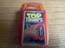 Top trumps card game set Lord of the Rings The Two Towers LOTR