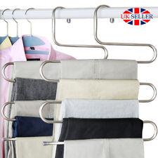 Pantalones Pantalones Colgante colgador ropa ropa de capa de almacenamiento espacio Saver wniu