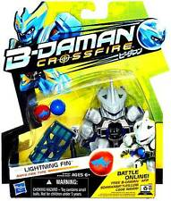 Lightning Fin FIGURE MOC BD-02 Rapid-Fire Type - B-DAMAN Crossfire Manga Marble