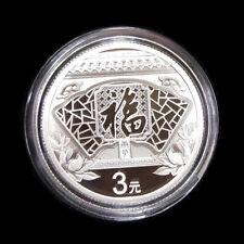 2020 good fortune-Fu  8g silver coin with coa and commemorative book