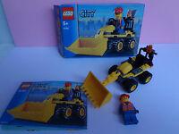 Lego City 7246 Mini Digger mit Bauplan und Verpackung