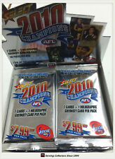 2010 Select AFL Champions Trading Cards Sealed Loose Packs Unit of 18--packs