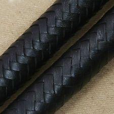 3 feet long 16 plait Genuine Leather Bull Whip Heavy duty Bullwhip Black