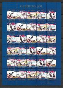 Faroe Islands - Christmas Seals 1984 - Full Sheet - VF MNH **  (A2543)
