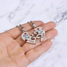 Lit Sis Big Sis Best Friends Necklaces Friends Forever Dog Tags Sisters Z