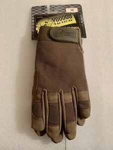 VOODOO TACTICAL CROSSFIRE GLOVES OLIVE DRAB/ OD GREEN PADDED PALM MEDIUM