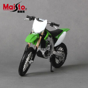 Maisto KAWASAKI KX 450F  Motorcycle Model Motorcross Dirt Bike Model
