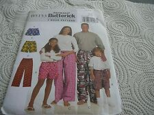 Butterick 4943 Kids 3-16 shorts/pants FAST AND EASY Uncut  Sewing Pattern