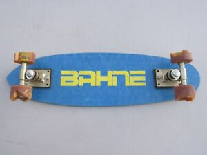 Vintage 1970s, Bahne, Fiberglass Skateboard, 23.75 inches Long, Need New Wheels