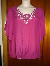 Women's Christopher & Banks Shirt, Plus Size 3X NWT