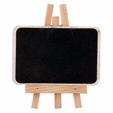 beschriftbare Tafel Kreidetafel Staffelei Natur 4 Stk. Tischkarte Buffetkarte