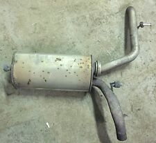 AUDI A2 2000 - 2005 1.6 PETROL FSI BAD ENGINE EXHAUST BACK BOX SILENCER BACKBOX
