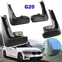 Set For BMW 3 Series G20 2019 2020 Front Rear Mud Flaps Splash Guards Mudguards