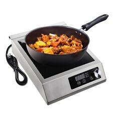 3500W Electric Induction Cooker Cooktop Hi-power Commercial Digital Hot Plate