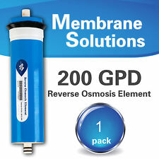 Reverse Osmosis Water Filter MEMBRANE 200 GPD RO Membrane Domestic Water System