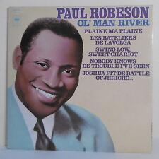 "2 x 33T Paul ROBINSON Disque Vinyle LP 12"" OL' MAN RIVER - CBS 88157 RARE"