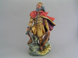 """VERY RARE ROYAL DOULTON ALFRED THE GREAT 9 3/4"""" FIGURINE, HN 3821"""