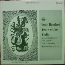 400 YEARS OF THE VIOLIN - STEVEN STARYK: EVEREST 3203/6: 6X LP NM