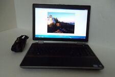 """Dell E6520 Latitude 15.6"""" Intel Core i7 2.80GHz 4GB DVDROM Wi-Fi 120GB BT WebCAM"""