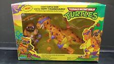 Teenage Mutant Ninja Turtles CAVE-TURTLE DON & His TRIPPY TYRANNOSAURUS Figure