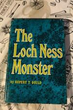 The Loch Ness Monster Hardcover Book. Rupert T. Gould Published 1969
