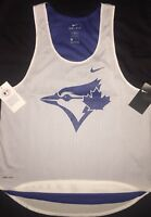 Nike TORONTO BLUE JAYS MLB White Out Performance Tank Top M