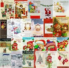 Grandson /  and Partner / Wife / Family / Girlfriend Christmas Card - Various