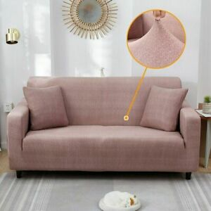 Sofa Cover Elastic For Living Room Spandex Cover Corner Couch Armchair Slipcover