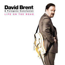 David Brent & Foregone Conclusion : Life On the Road CD (2016) ***NEW***