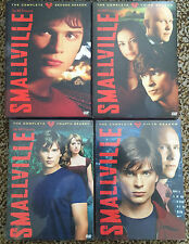 Smallville Seasons 2, 3, 4 and 5