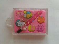 "Mini Hello Kitty Water Color Paint Set with Brush - Great Size For 18"" Dolls"