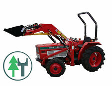 Kleintraktor Allrad Traktor Kubota L2602DT Frontlader neu lackiert Schlepper