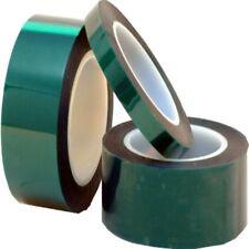 Nastro adesivo verde siliconico mascheratura in poliestere per alte temperature
