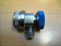R134a Lo Side coupler with 3/8 flare with 1/4 size flare adapter Bosch ISC