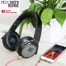 KOCASO Headphones Over Ear Wireless Stereo Microphone Foldable Headset