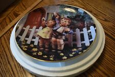Hummel Plate Come Back Soon Danbury Mint Little Companions