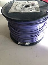 CME Solid Copper Wire 12 AWG Purple E95989 Approx. 500ft