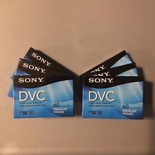 Sony DVC 60 Minute Min Premium Digital Video Cassette LOT OF 6 SEALED! DVM60PRR