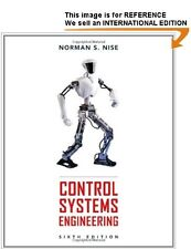 Control Systems Engineering by Norman S. Nise - Int' Edition PaperBack - 6th Ed