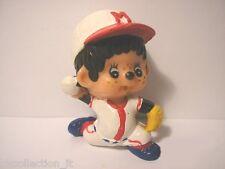 MON CICCI 1979 BASEBALL - personaggio pvc 5 cm (01) Monchhichis Chicaboo Kiki