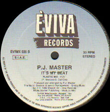 P.J. Master – It's My Beat - 1992 Eviva Records – EVR 020