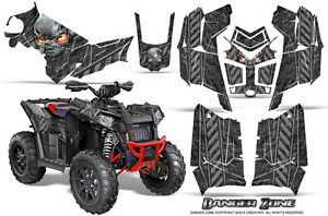Polaris Scrambler 850 1000 Graphics Kit by CreatorX Decals Stickers DZS