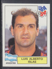 Panini - USA 94 World Cup - # 247 Luis Islas - Argentina (Green Back)
