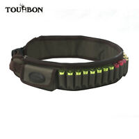 Tourbon Shotgun Cartridge Holder Ammo Bullets Waist Belt Bandolier 2Side Pockets
