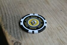 Renault Poker Chip Heavy 14g Casino Quality - Black
